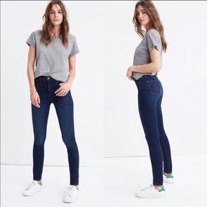 "Madewell 10"" High Riser Skinny Skinny Jeans"